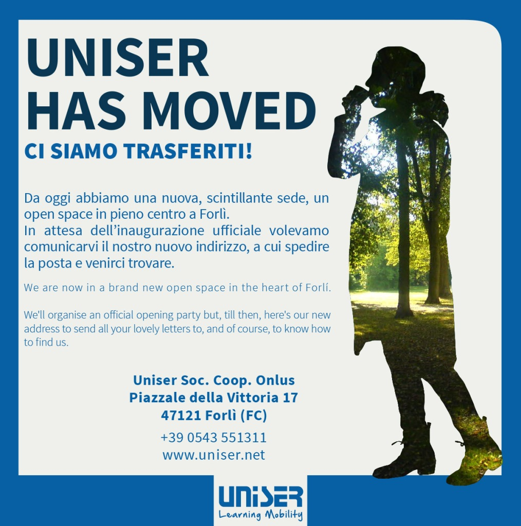 Uniser has moved