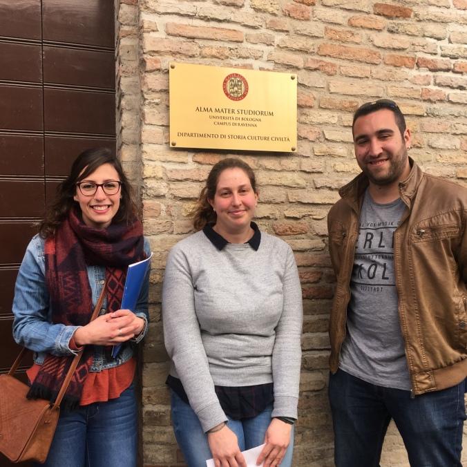 E.. Miriam e Miguel i 2 archeologi!!!