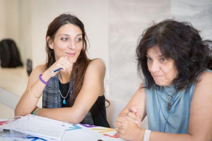 Elisa Pinelli - Alimos Soc. Coop. e Cosetta Gardini - Casa Walden