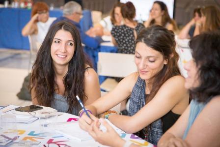 Giulia Visani di Tulips, Elisa Pinelli di Alimos Soc. Coop. , Cosetta Gardini di Casa Walden
