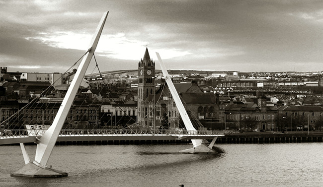 Federica a Derry